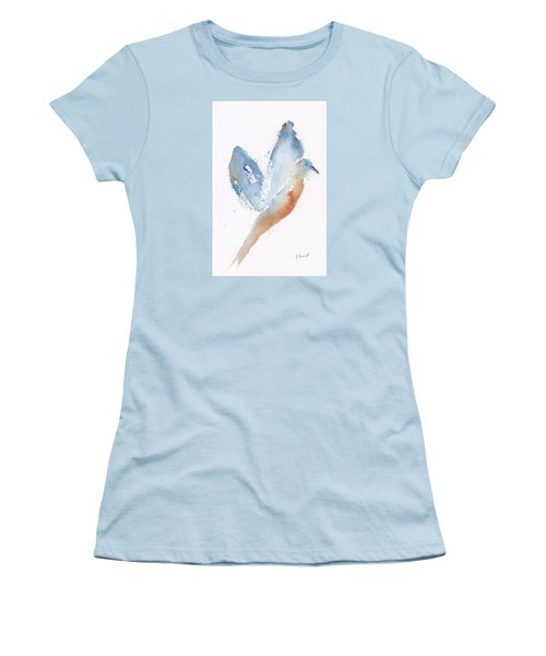 Bird Takes Flight  Women's T-Shirt (Athletic Fit)