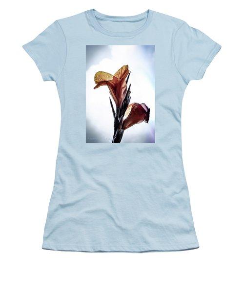 Birds Of Paradise Women's T-Shirt (Junior Cut) by Stefanie Silva