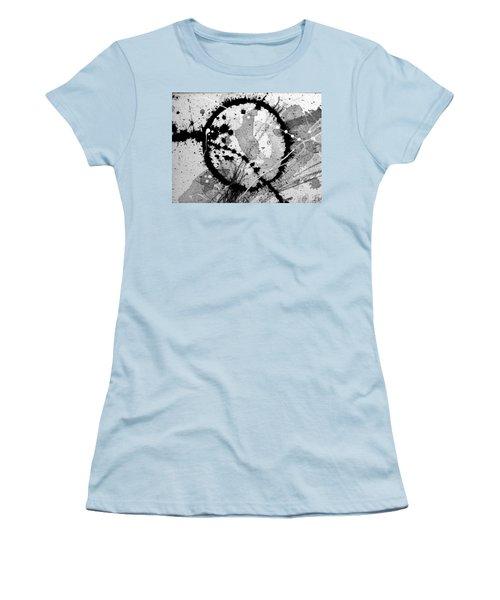 Black And White Five Women's T-Shirt (Junior Cut) by Tracy Bonin