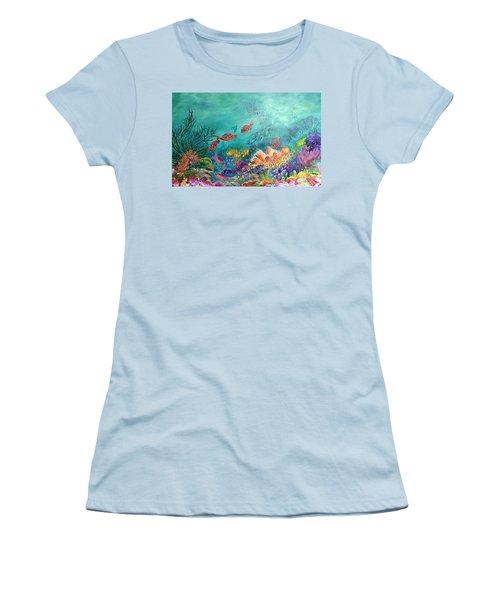 Black Coral Women's T-Shirt (Athletic Fit)
