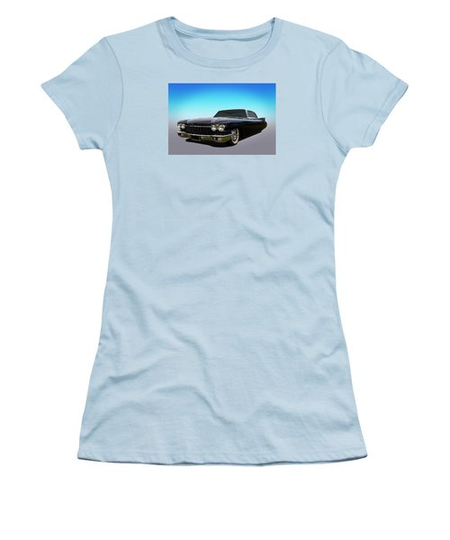 Women's T-Shirt (Junior Cut) featuring the photograph Black by Keith Hawley