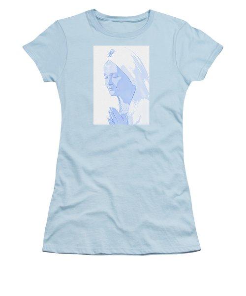 Bliss Is God Women's T-Shirt (Junior Cut) by Manjot Singh Sachdeva
