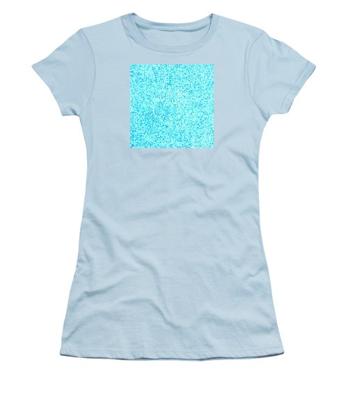 Bllue On Blue Women's T-Shirt (Athletic Fit)