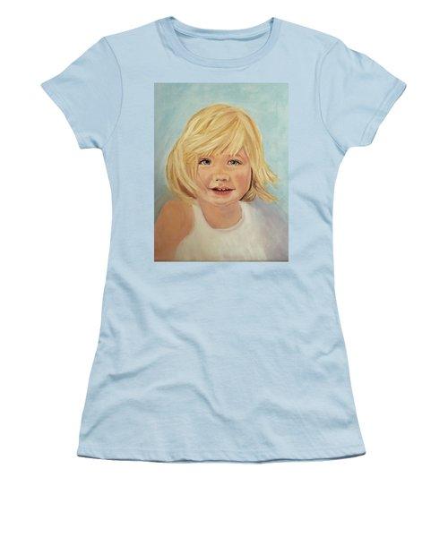 Blondie Women's T-Shirt (Junior Cut) by Sharon Schultz