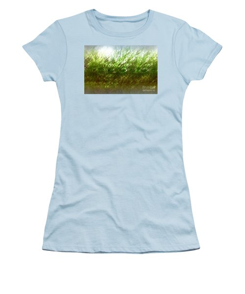 Women's T-Shirt (Junior Cut) featuring the photograph Blowing In The Wind by John Krakora