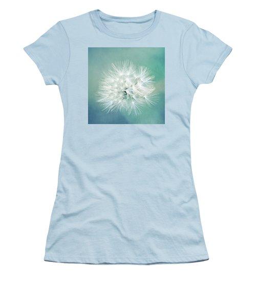 Women's T-Shirt (Junior Cut) featuring the photograph Blue Awakening by Trish Mistric