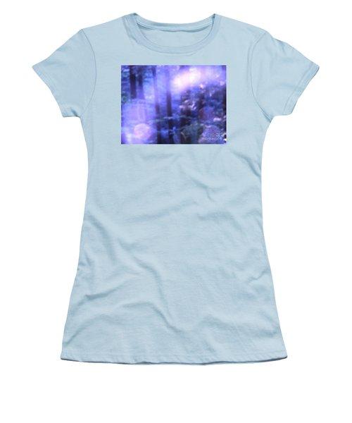 Blue Fairies Women's T-Shirt (Junior Cut) by Melissa Stoudt