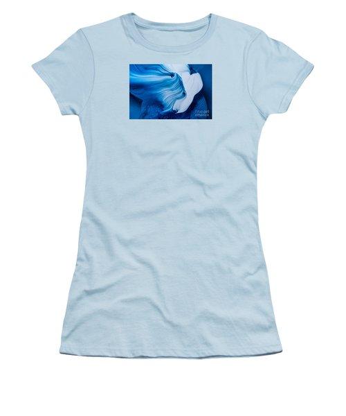 Blue Lagoon Women's T-Shirt (Athletic Fit)
