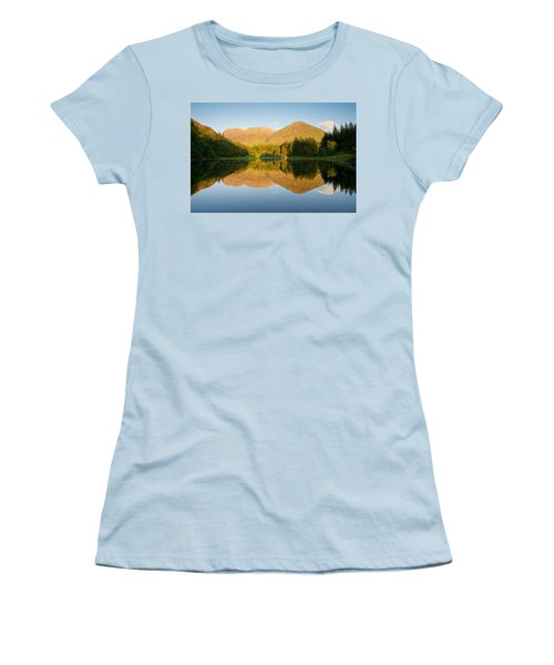 Blue Skies At Torren Lochan Women's T-Shirt (Athletic Fit)