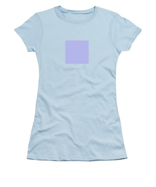 Blue Ultra Soft Lavender Colour Palette Women's T-Shirt (Junior Cut)