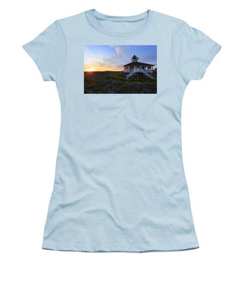 Boca Grande Lighthouse, Gasparilla Island, Florida, U S A Women's T-Shirt (Athletic Fit)