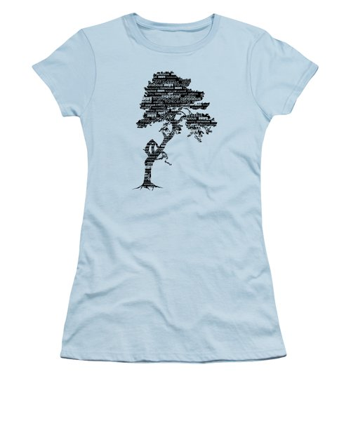 Bodhi Tree Of Awareness Women's T-Shirt (Athletic Fit)