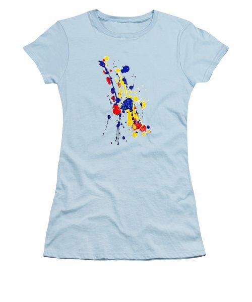Boink T-shirt Women's T-Shirt (Junior Cut) by Herb Strobino