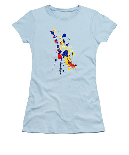 Boink T-shirt Women's T-Shirt (Athletic Fit)