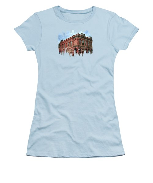 Boomtown Saloon Jacksonville Oregon Usa Women's T-Shirt (Athletic Fit)