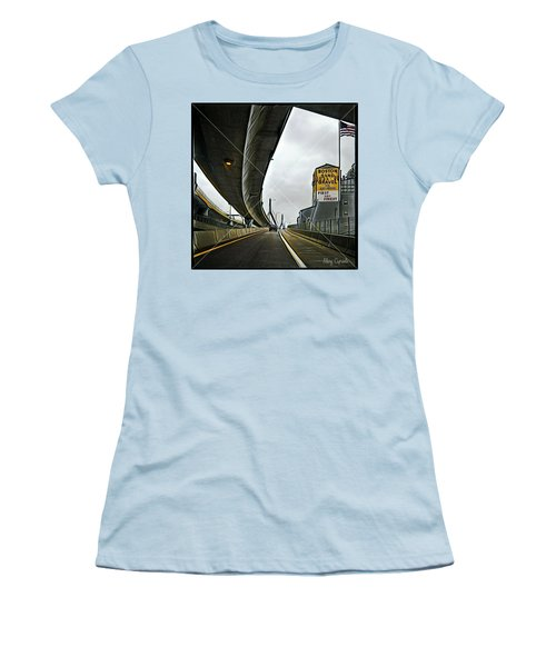 Boston Sand And Gravel  Women's T-Shirt (Athletic Fit)