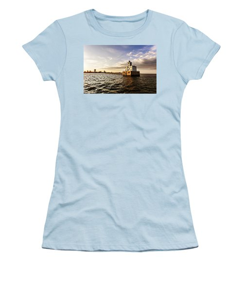 Breakwater Lighthouse Women's T-Shirt (Athletic Fit)