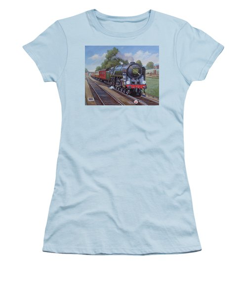 Britannia Pacific On The Golden Arrow. Women's T-Shirt (Junior Cut) by Mike  Jeffries
