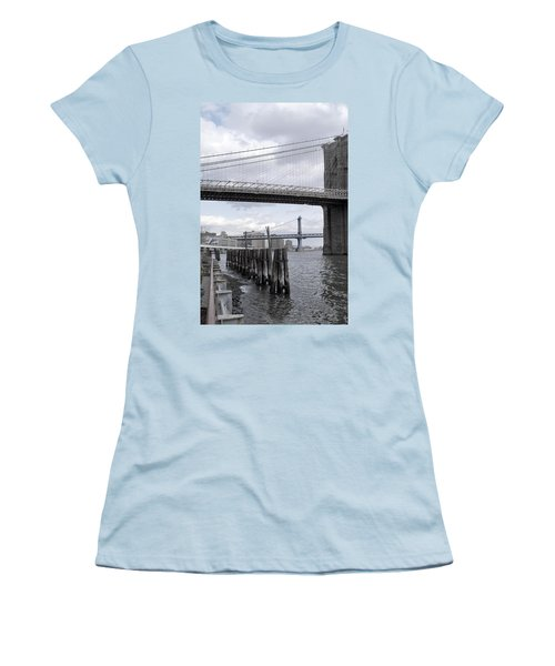 Brooklyn Bridge II Women's T-Shirt (Athletic Fit)