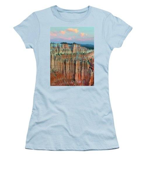 Bryce Canyon Women's T-Shirt (Junior Cut) by Tim Fitzharris