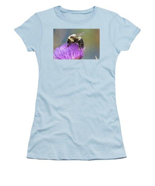 Bumblebee Women's T-Shirt (Junior Cut) by Nikki McInnes