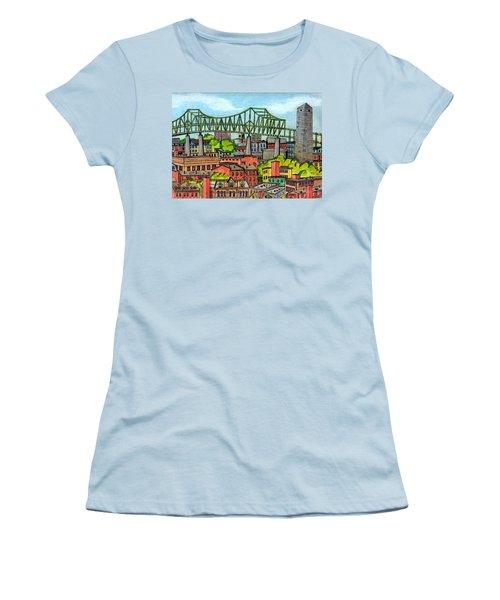 Bunkerhill And Tobin Women's T-Shirt (Junior Cut) by Paul Meinerth