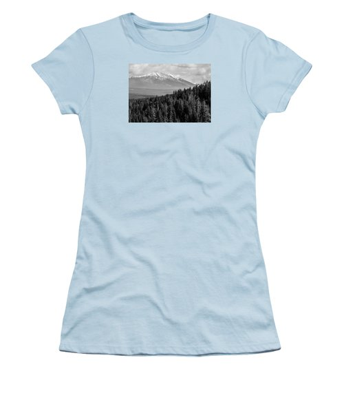 Burney Mountain Women's T-Shirt (Athletic Fit)