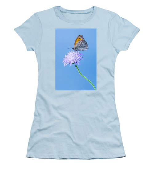 Women's T-Shirt (Junior Cut) featuring the photograph Butterfly by Jaroslaw Grudzinski