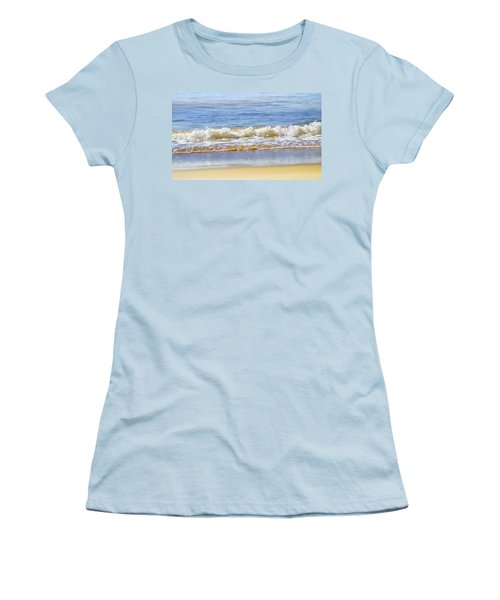 By The Coral Sea Women's T-Shirt (Junior Cut) by Holly Kempe
