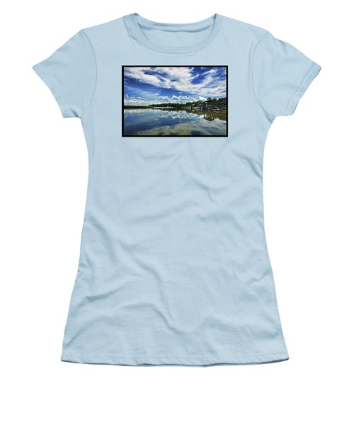 By The Still River Women's T-Shirt (Athletic Fit)