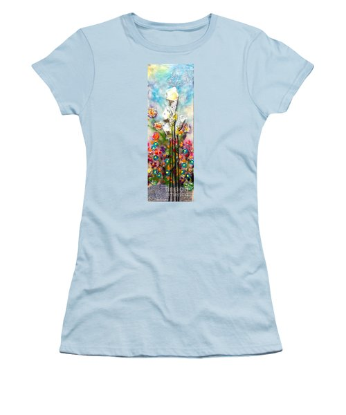 Calla Lily Dance Women's T-Shirt (Athletic Fit)