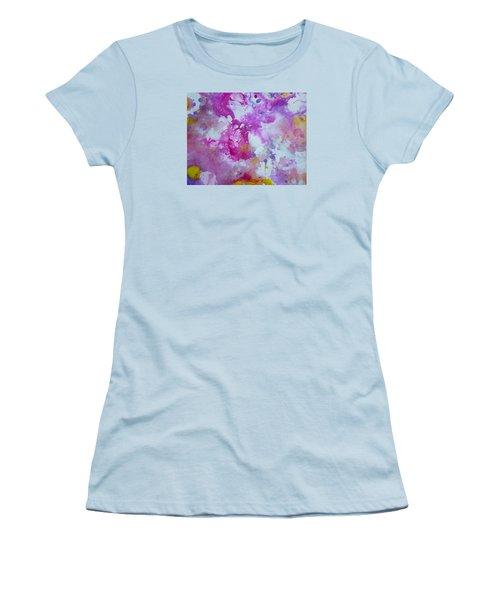 Candy Clouds Women's T-Shirt (Junior Cut) by Tracy Bonin