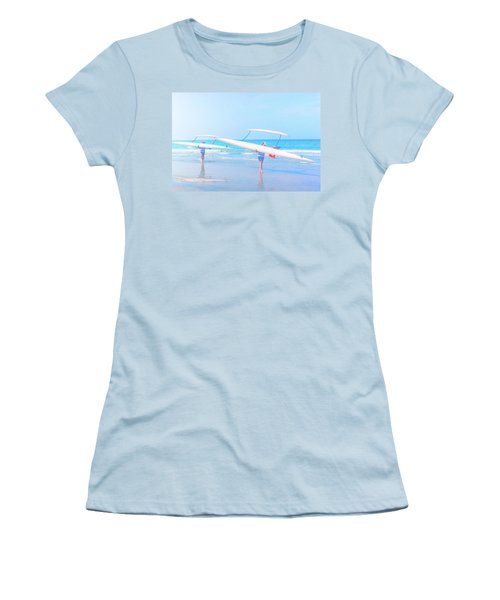Canoe Ladies Women's T-Shirt (Athletic Fit)