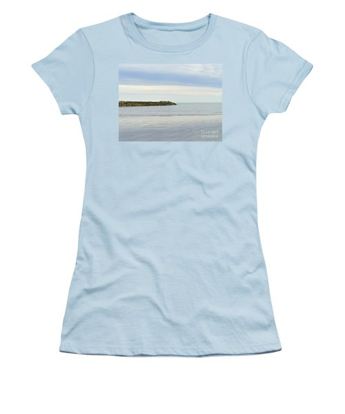 Cape Cod Jetty Sundown Women's T-Shirt (Athletic Fit)