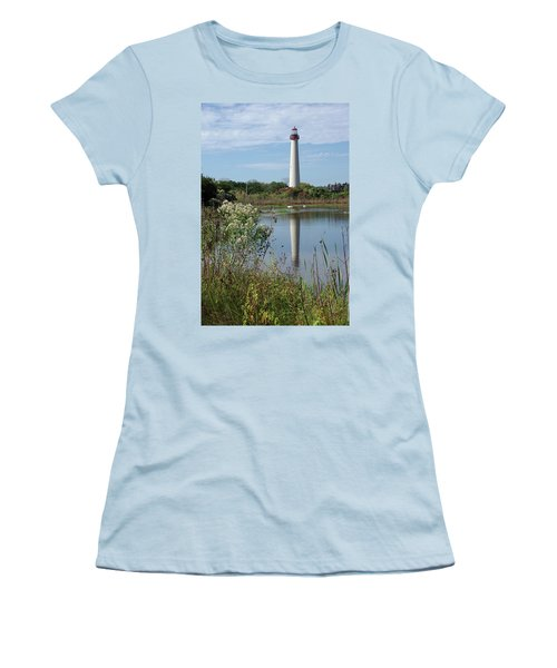 Cape May Lighthouse II Women's T-Shirt (Athletic Fit)