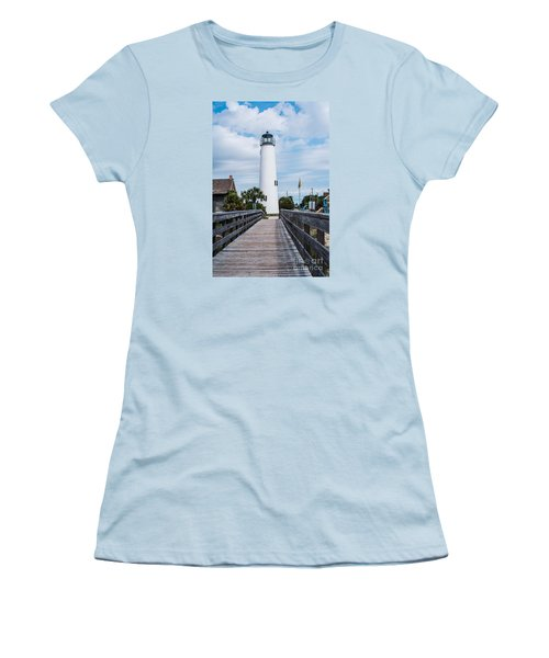 Cape St. George Lighthouse Women's T-Shirt (Athletic Fit)