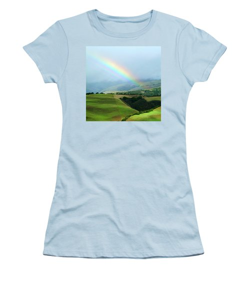 Carmel Valley Rainbow Women's T-Shirt (Athletic Fit)