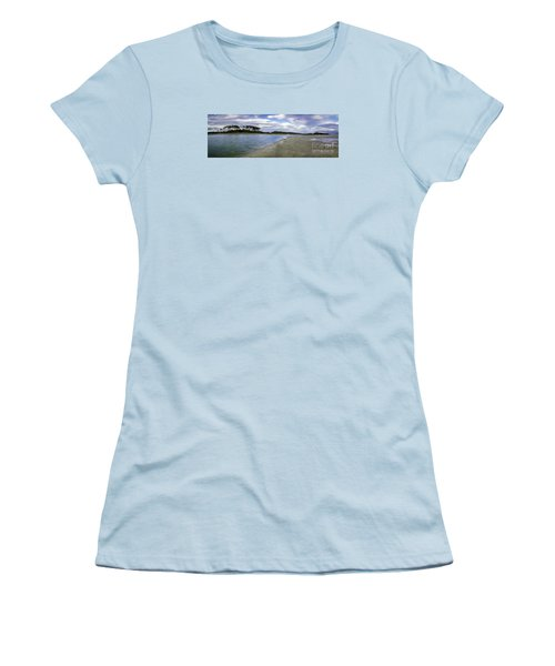 Carolina Inlet At Low Tide Women's T-Shirt (Junior Cut) by David Smith