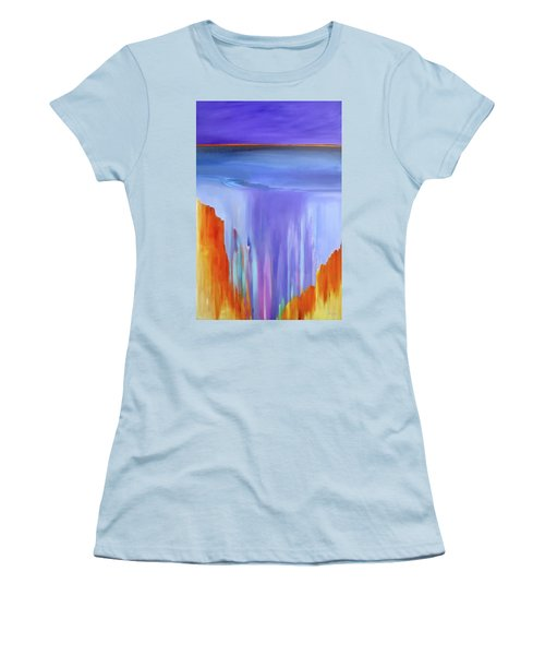 Casade Women's T-Shirt (Junior Cut) by Jo Appleby