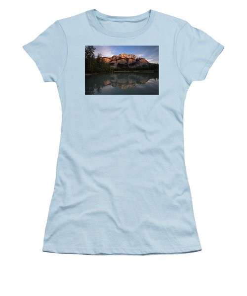 Cascade Ponds Reflections Women's T-Shirt (Athletic Fit)