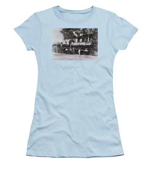 Casey Jones Engine  Women's T-Shirt (Athletic Fit)