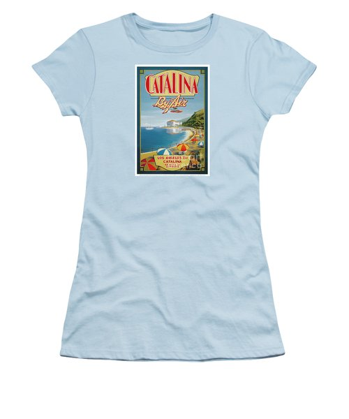 Catalina By Air Women's T-Shirt (Athletic Fit)