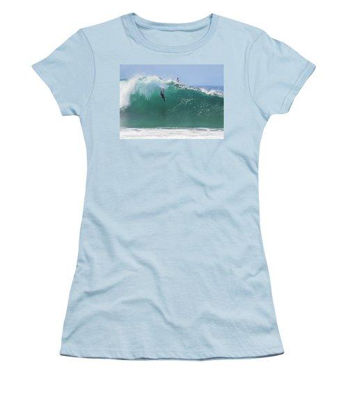 Catch Me Women's T-Shirt (Junior Cut) by Joe Schofield