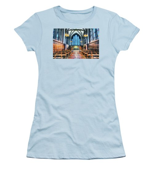 Cathedral Glow Women's T-Shirt (Athletic Fit)