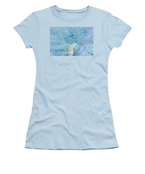 Cave Colors Women's T-Shirt (Junior Cut) by Wanda Krack