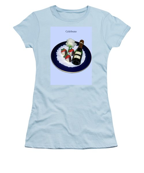 Women's T-Shirt (Junior Cut) featuring the photograph Celebrate  by Sally Weigand