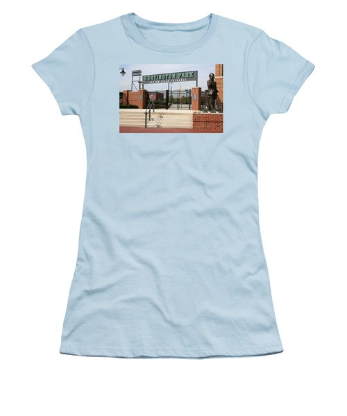Center Field Entrance At Huntington Park  Women's T-Shirt (Athletic Fit)