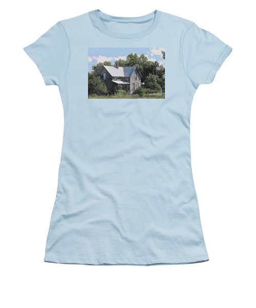 Charming Country Home Women's T-Shirt (Athletic Fit)