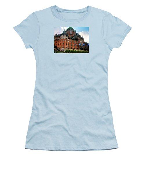 Chateau Frontenac Women's T-Shirt (Athletic Fit)