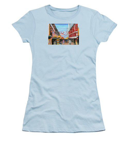 China Town Singaporesg50 Women's T-Shirt (Athletic Fit)